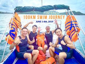 The 100km Swim Challenge In 7 Days