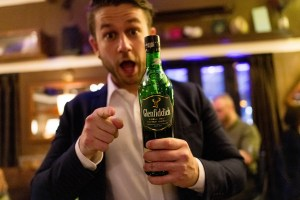 A Sip With Brett Bayly. Glenfiddich Brand Ambassador