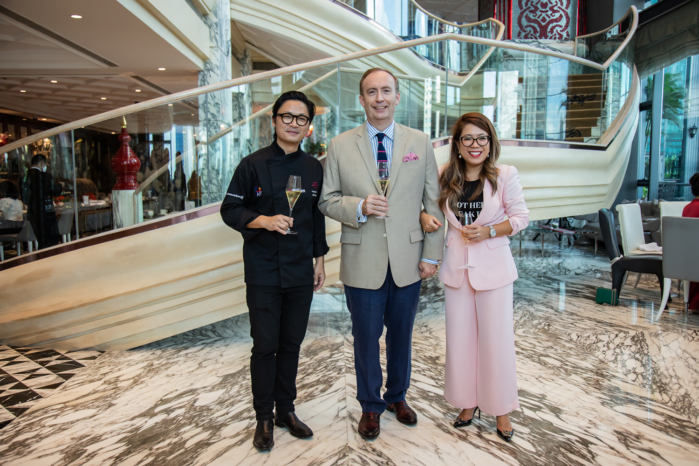 Chef Luke Nguyen Fashion Designer Betty Tran Arvo Tea Collab At The Reverie Saigon Was Sweet As The Bureau