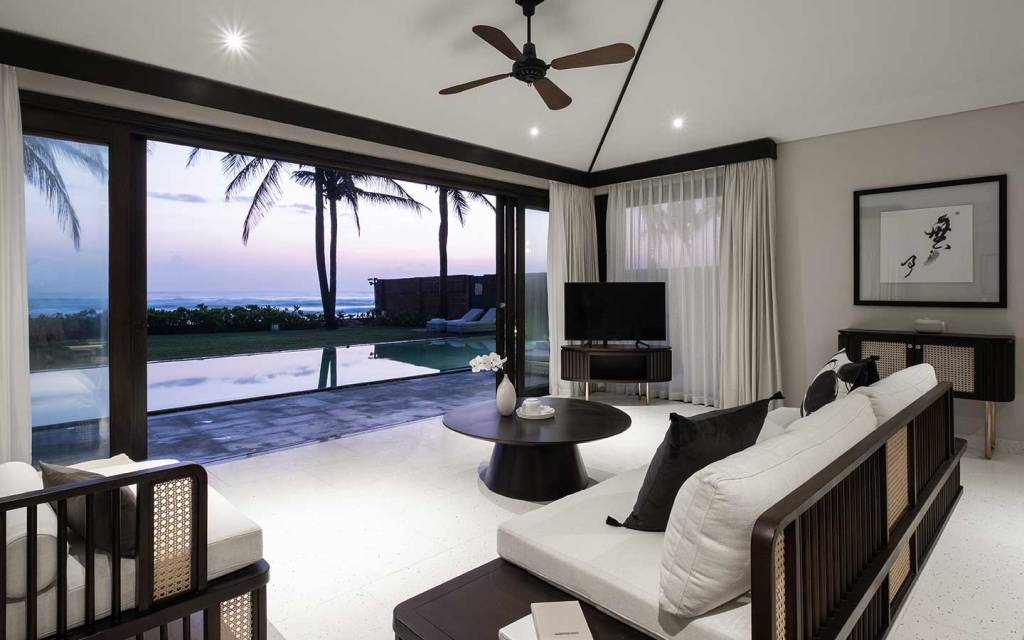 Three bedroom beach villa at TIA Wellness Resort, Danang, Vietnam