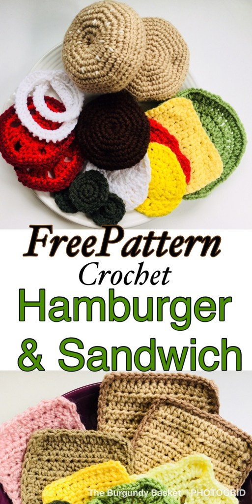 Crocheted Play Food - FREE Crochet Pattern and Tutorial ... | 1024x513