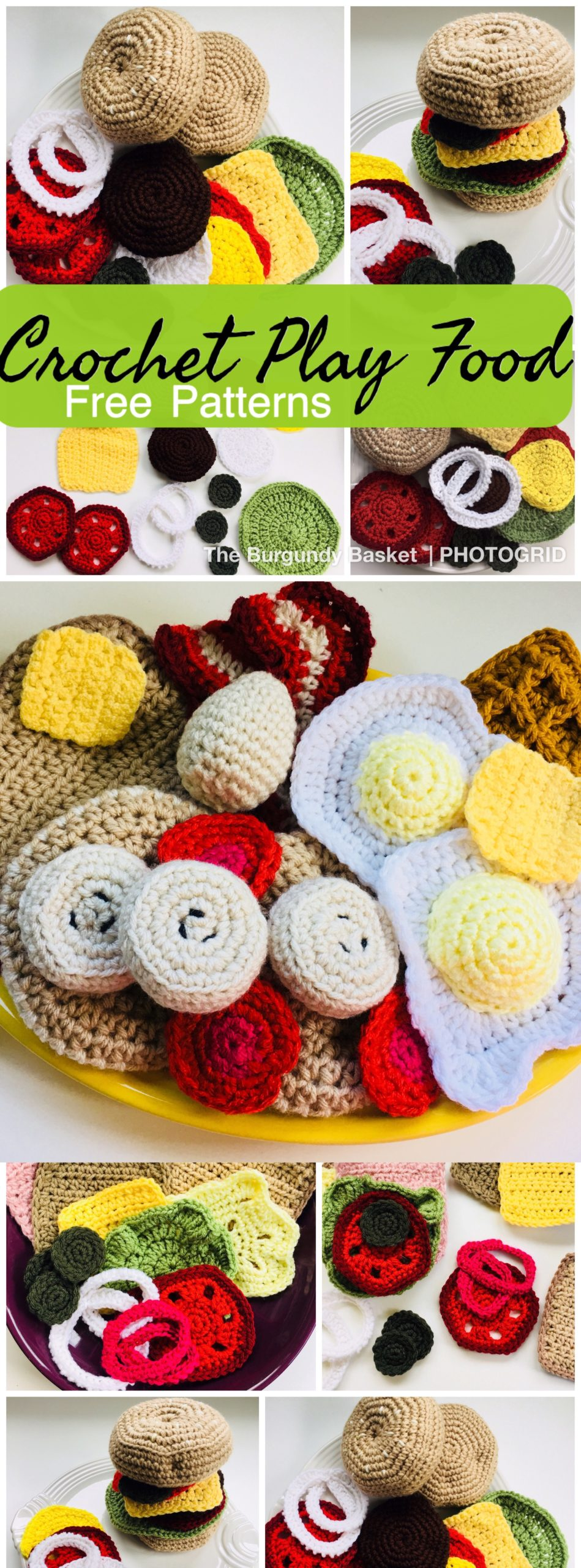More Sandwich Fixins! – Free Crochet Pattern – Between My Fingers | 2560x949