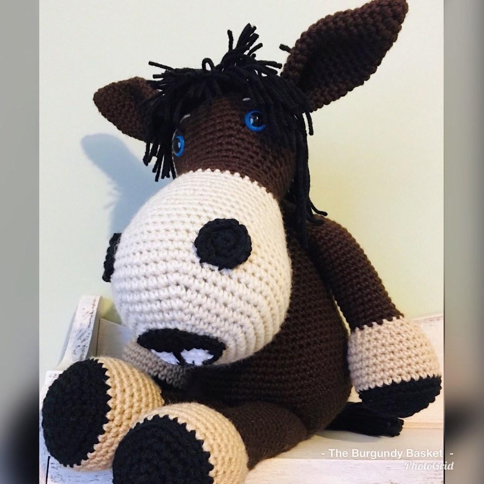 Stuffed crochet lamb, amigurumi animal. Original pattern by ...   982x982