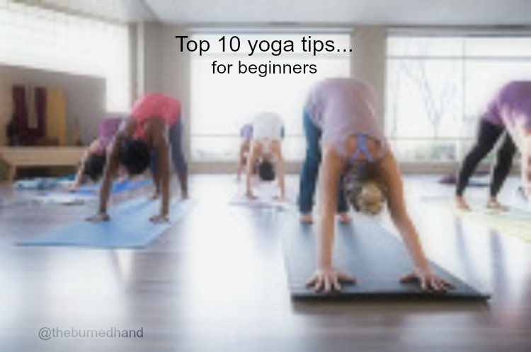 Top 10 yoga tips for beginners.