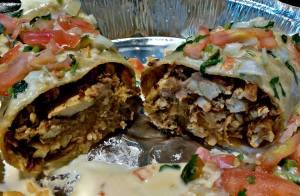 Monterrey Mexican Bar & Grill burrito