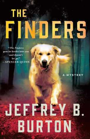 Book cover of The Finders by Jeffrey B. Burton