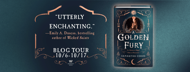 A Golden Fury Blog Tour