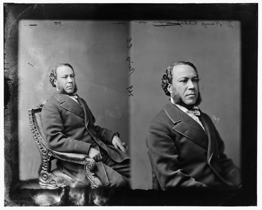A former slave, Joseph Hayne Rainey was the first African-American to serve in the U.S. House of Representatives (1870-79). (Photo credit: www.loc.gov)