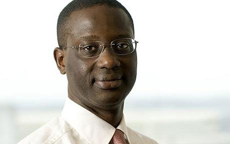 Tidjane Thiam is the first black person to head a FTSE 100 company (the 100 most highly capitalized companies in the United Kingdom).  PHOTO CREDIT: Google Images
