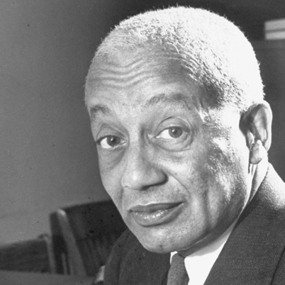 Dr. Alain LeRoy Locke is credited with being the architect of the New Negro Movement and the Harlem Renaissance.  (Photo Credit: bcrw.barnard.edu)