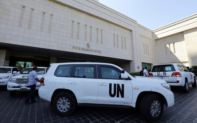 U.N. weapons inspectors arrive in Damascus to investigate claims that Syrian president Bashar al-Assad used chemical weapons on his citizens. (Photo Credit: Al-Jazeera)