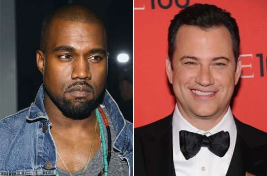 Is race a factor in the Kanye West, Jimmy Kimmel feud? (Photo Credit: Google Images)