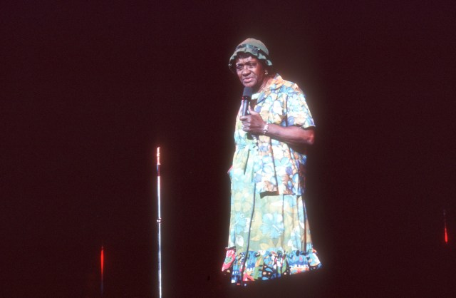 Moms Mabley performs. (Getty Images/HBO)
