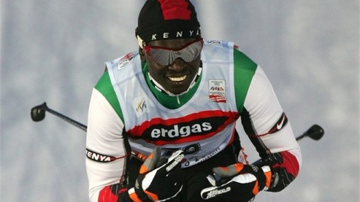 Kenyan skiier Philip Boit helped pave the way for more African athletes to compete in the Winter Olympics. (Photo Credit: Google Images)