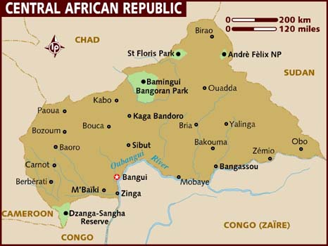 Nearly one million people have fled the Central African Republic amid crippling violence in a struggle over power. (Photo Credit: Google Images)