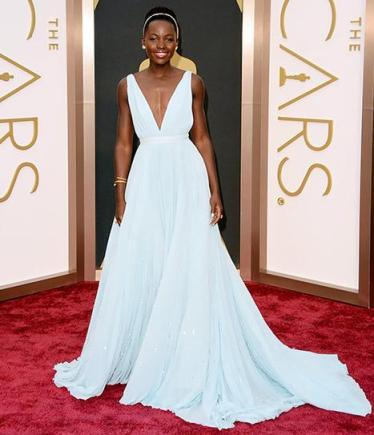 Lupita Nyong'o wins Best Supporting Actress Academy Award for her performance as Patsy in '12 Years a Slave'