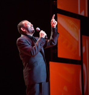 """Maurice Hines in the Alliance Theatre's production of """"Maurice Hines is Tappin' Thru LIfe"""", running through May 4. Photo by Jeff Rothman."""