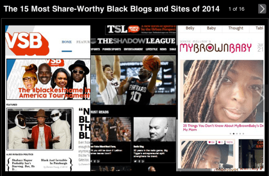 News One names Top 15 Most Share-Worthy Black Blogs of 2014. The Burton Wire Makes the List!