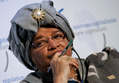 Liberian President Ellen Johnson Sirleaf has dismissed members of her cabinet who fled during the Ebola outbreak. (Photo: Google Images)
