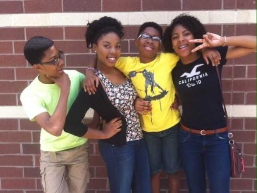 Decatur, GA teen siblings Christian, 16, Caleb 14 and Asha 15 created the 5-0 app. (Photo Credit: Google Images)