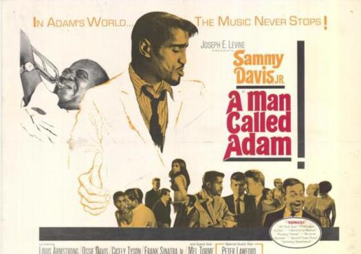 Movie poster for Ike Jones' 'A Man Called Adam'. (Photo Credit: Google Images)