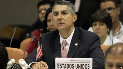 Nelson Arboleda, a regional official of the US Centers for Disease Control and Prevention. (Photo Credit: EPA)