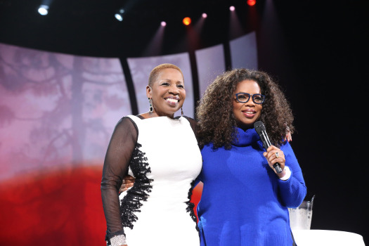 Iyanla Van Zant and Oprah Winfrey at 'The Life You Want' Tour Weekend in Washington, DC.  (Verizon Center)