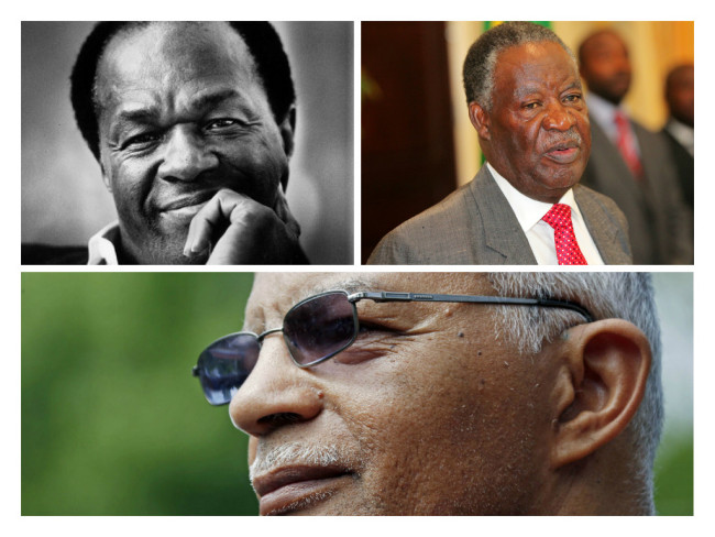 Former DC Mayor Marion Barry, Zambia President Michael Sata and Jackson, Miss. Mayor Chokwe Lumumba died in 2014.