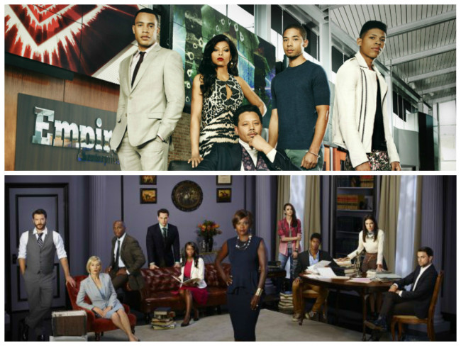 Fox's 'Empire' and ABC's 'How to Get Away with Murder' will be represented at the 2015 aTVFest at SCAD in February. (Photo Credit: ABC/FOX)