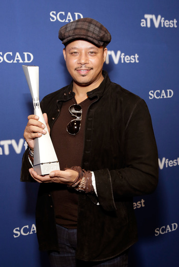 'Empire' star Terrence Howard receives Spotlight Award at SCAD's 3rd Annual aTVfest. Photo: Getty Images for SCAD