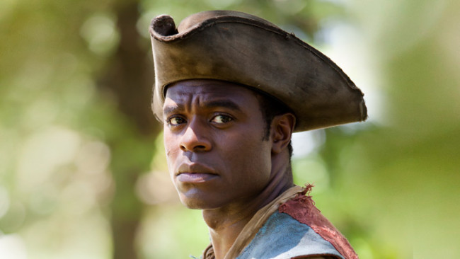 Lyriq Bent stars as Chekura Tiano in BET's miniseries 'The Book of Negroes'.  (Photo: Google Images)