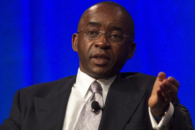 Businessman Strive Masiyiwa speaks at the 2013 Milken Institute Global Conference in Los Angeles.  (Photo: Milken Institute)