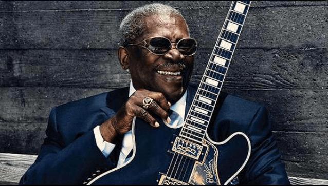 Blues Legend B.B. King.  (Photo: Twitter)