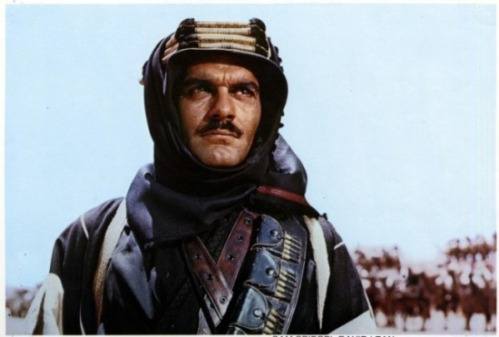 Omar Sharif stars in Lawrence of Arabia. (Photo: Google Images)