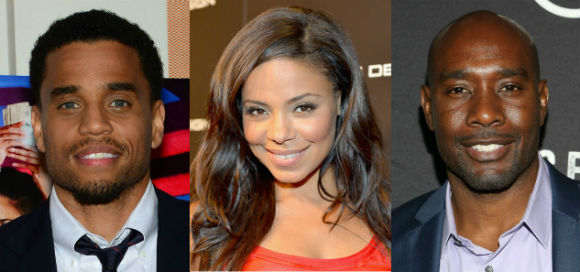 Stars of the film 'The Perfect Guy,' Michael Ealy (l), Sanaa Lathan (c) and Morris Chestnut (r). Photo: Google Images