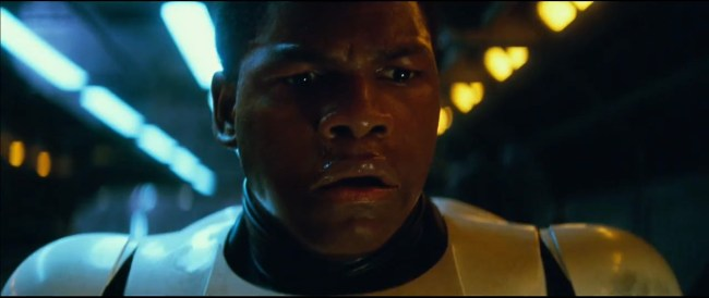 John Boyega as Storm Trooper Finn. (Photo: Google Images)