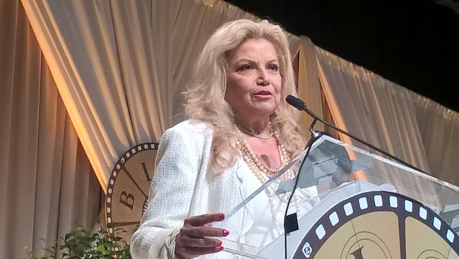 Veteran executive and producer Suzanne de Passe was honored at the sixth annual Women SuperStars Luncheon as part of BronzeLens Film Festival in Atlanta (Photo Credit: Christopher A. Daniel).