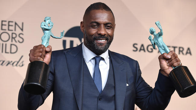 British actor Idris Elba ,makes history at 2016 SAG Awards. (Photo: Google Images)