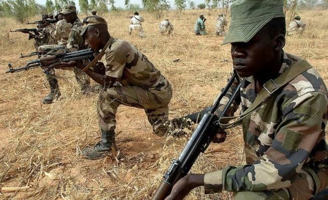 Nigerian troops. (Google Images)