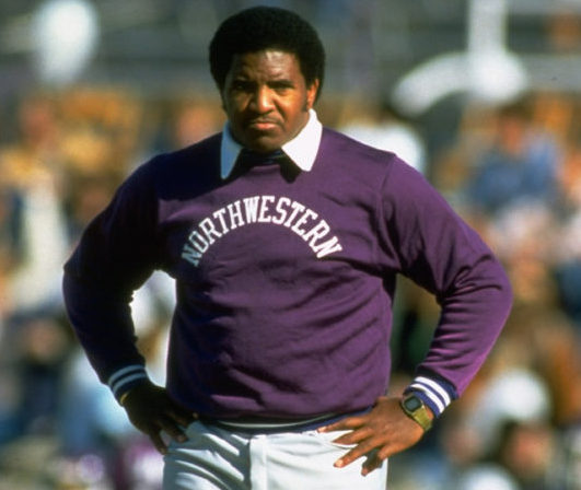 Dennis Green served as head coach at Northwestern University. (Photo Credit: Tumblr)