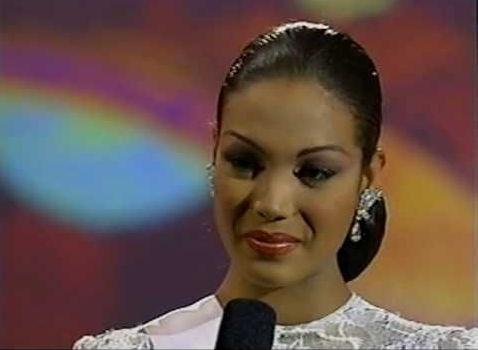 Carolina Indriago, Venezuela's first Black Miss Venezuela (1999). (Photo: Google Images)