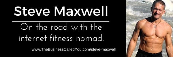 Steve Maxwell – True Wisdom From the Fitness Nomad