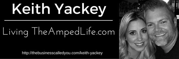 Keith Yackey on Living TheAmpedLife.com