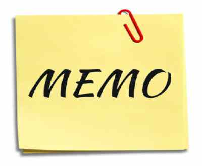 Importance of Memo
