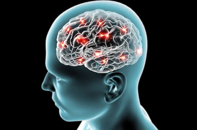 Synapses firing in the brain