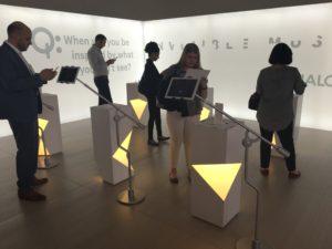 Qualcomm Invisible Museum exhibit at WIREDBizCon