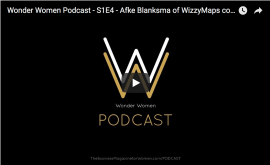 Wonder Women Podcast S1E4 – Afke Blanksma of Wizzymaps.com
