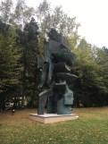 Alicia Penalba, Le Grand Double, bronze, 1972