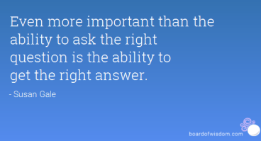 Get the right Question and Answers