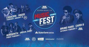 Bud Light Music Festival Features Bruno Mars, Cardi B, Ludacris and Migos